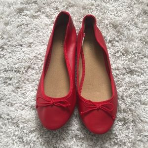 Red Old Navy Flats